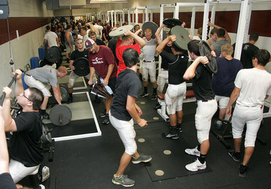 High School Weight Room 3