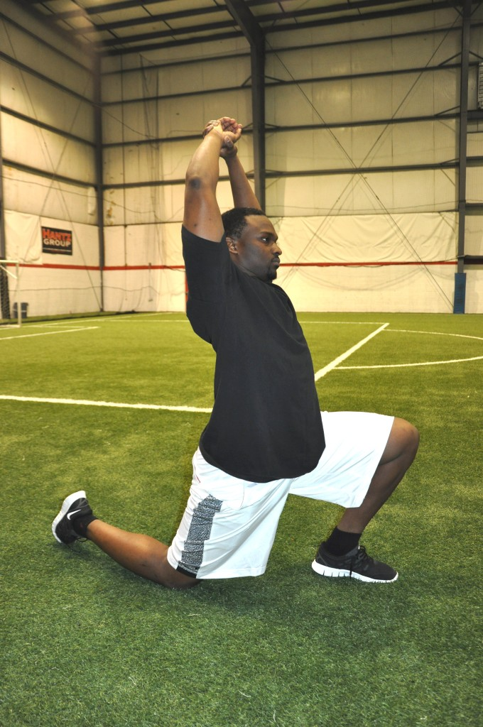 Hip Flexor Stretch - Cliff Avril