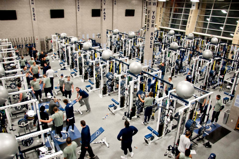 Penn State Weight Room
