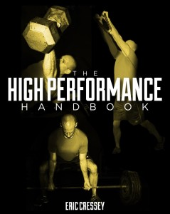 High Performance Handbook Eric Cressey