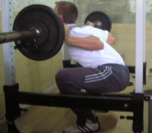 Squat Rounded Back