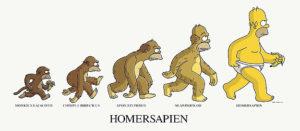 Evolution of Homer Simpson
